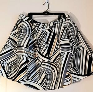 Lane Bryant Circle Skirt with pockets